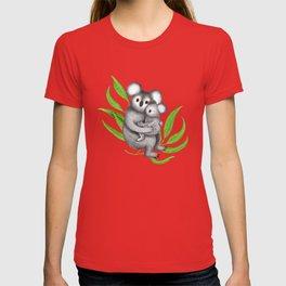 Koala Pattern Charitable Art (Pink Background) T-shirt