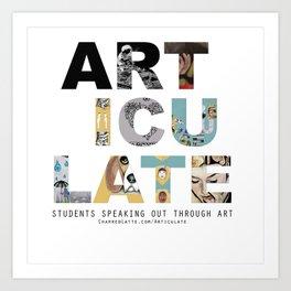 Articulate Art Print