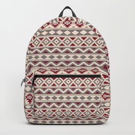 Aztec Essence Ptn IIIb Red Cream Taupe Backpack