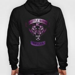 Battle Born MC- Purple Wolf Logo Hoody