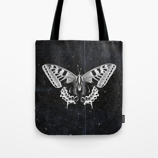 Butterfly in the stars Tote Bag