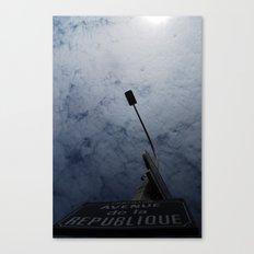 Avenue de la Republique Canvas Print