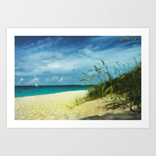 Tropical Idyll Art Print