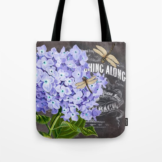Vintage Flowers #4 Tote Bag