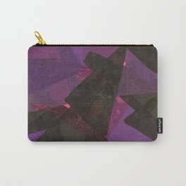 PURPLE CROSS GRAPHIC Carry-All Pouch