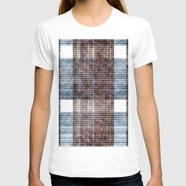 Denim texture jeans pattern T-shirt