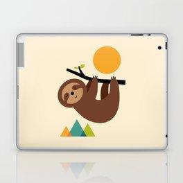 Keep Calm And Live Slow Laptop & iPad Skin