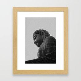 Iron Buddha Framed Art Print