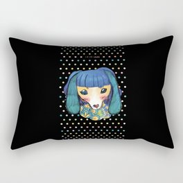 Miss Dackel Rectangular Pillow
