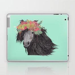 Shetland Pony (Pastel Aqua Edition) Laptop & iPad Skin