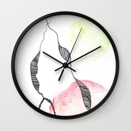 Scandi Micron Art Design   170412 Telomere Healing 2 Wall Clock