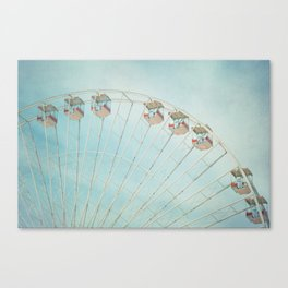 The Giant Wheel Canvas Print