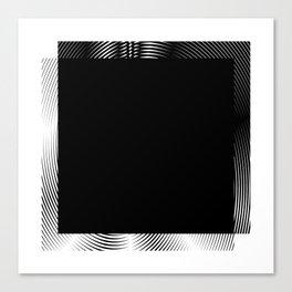 Spiel Shape Square Canvas Print
