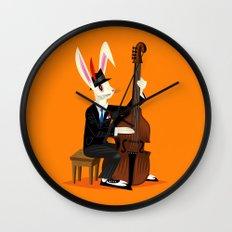 The Jazz Bunny Wall Clock