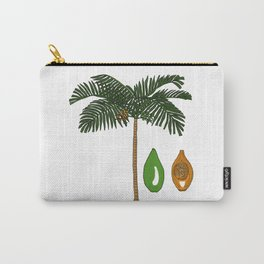 Areca Palm Carry-All Pouch