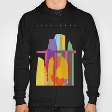 Shapes of Singapore. Hoody