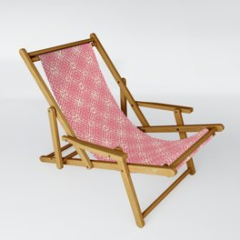 Coral Shibori Sling Chair