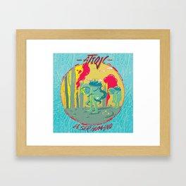 El Ser Humano Framed Art Print