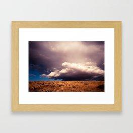 Angry Skys Framed Art Print
