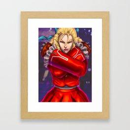 Karin Street Fighter V Framed Art Print
