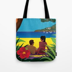 A Shaded Beach Tote Bag