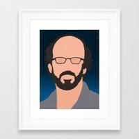 phish Framed Art Prints featuring Page by Jason Conny