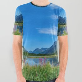 God's Country 4129 - Alaska All Over Graphic Tee