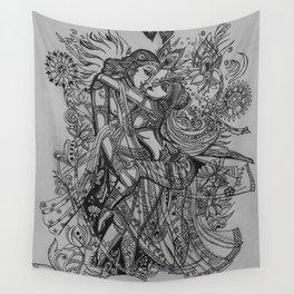 Good Luck Series: Radha-Krishna Wall Tapestry