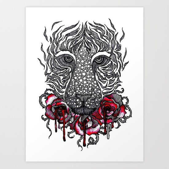 So beautiful, yet so deadly Art Print