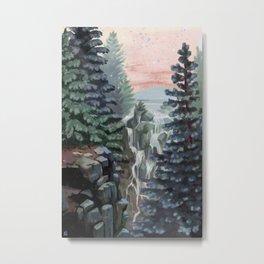 Mount Rainier National Park (Pastel Sunset) Metal Print