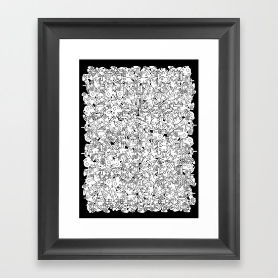 Sweaty Palms Framed Art Print