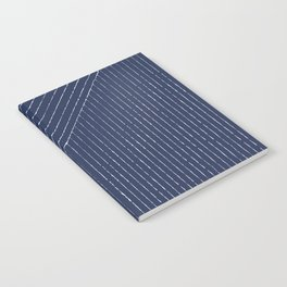 Lines / Navy Notebook