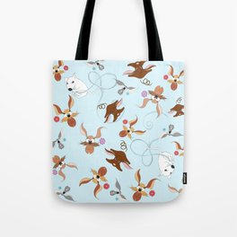 funny dogs for you Tote Bag