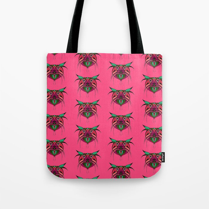 Tribal Cats 2 Tote Bag