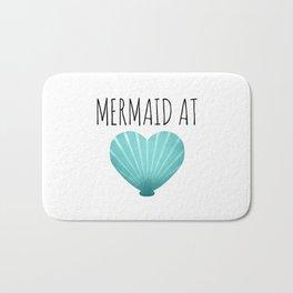 Mermaid At Heart  |  Teal Bath Mat