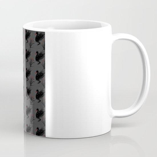 Winter Black Swan Mug