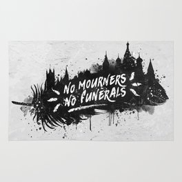 No Mourners No Funerals Rug