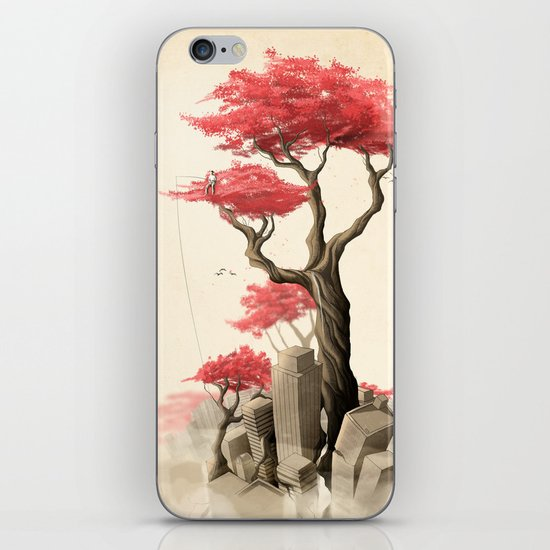 Revenge of the nature III: Fishing memories in the old world iPhone & iPod Skin