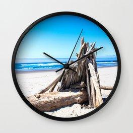 Drift wood Fort Wall Clock