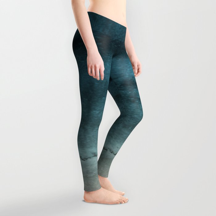 WITHIN THE TIDES - CRASHING WAVES TEAL Leggings