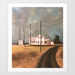 Ringgold, TX Art Print