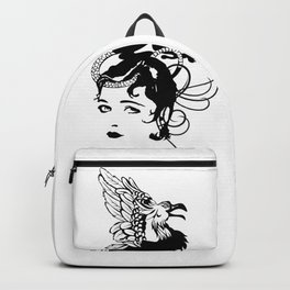 Gothic grotesque Backpack