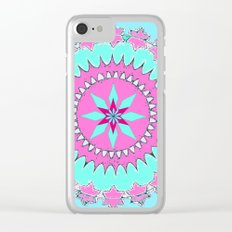 My Mandala Clear iPhone Case