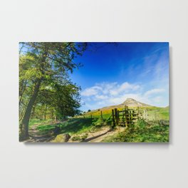 Roseberry Pass Metal Print