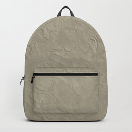 Beige Rough Plastering Texture Backpack