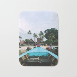 Long Boat Rides on Phi Phi Island Bath Mat