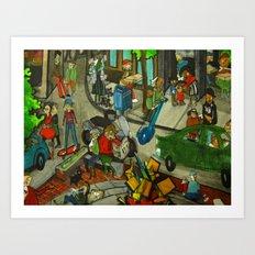 DC Peeps 2011 Art Print