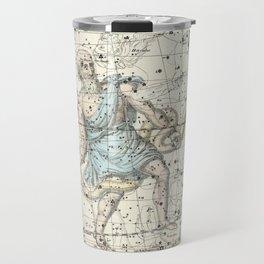 Constellations Ophiuchus and Serpents, Celestial Atlas Plate 9, Alexander Jamieson Travel Mug