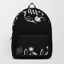 Building Cleaner Lover Flower Design Motif Backpack