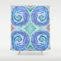 bread Shower Curtains featuring Bread Basket by Truly Juel